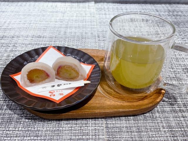9月日替わりデザート(季節の和菓子)