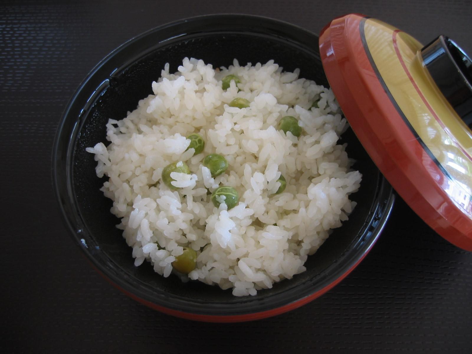 ~レシピ~豆ごはん